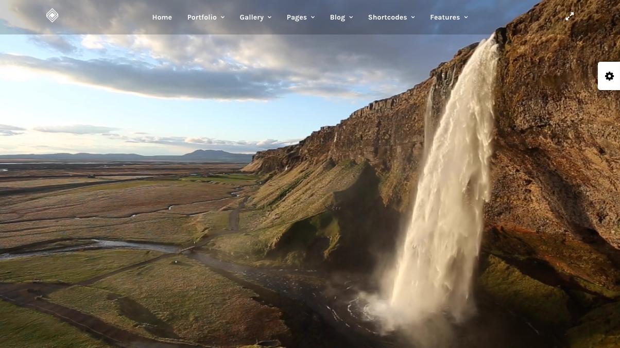 Fullscreen Vimeo Video – Grand Portfolio   Responsive Portfolio Theme