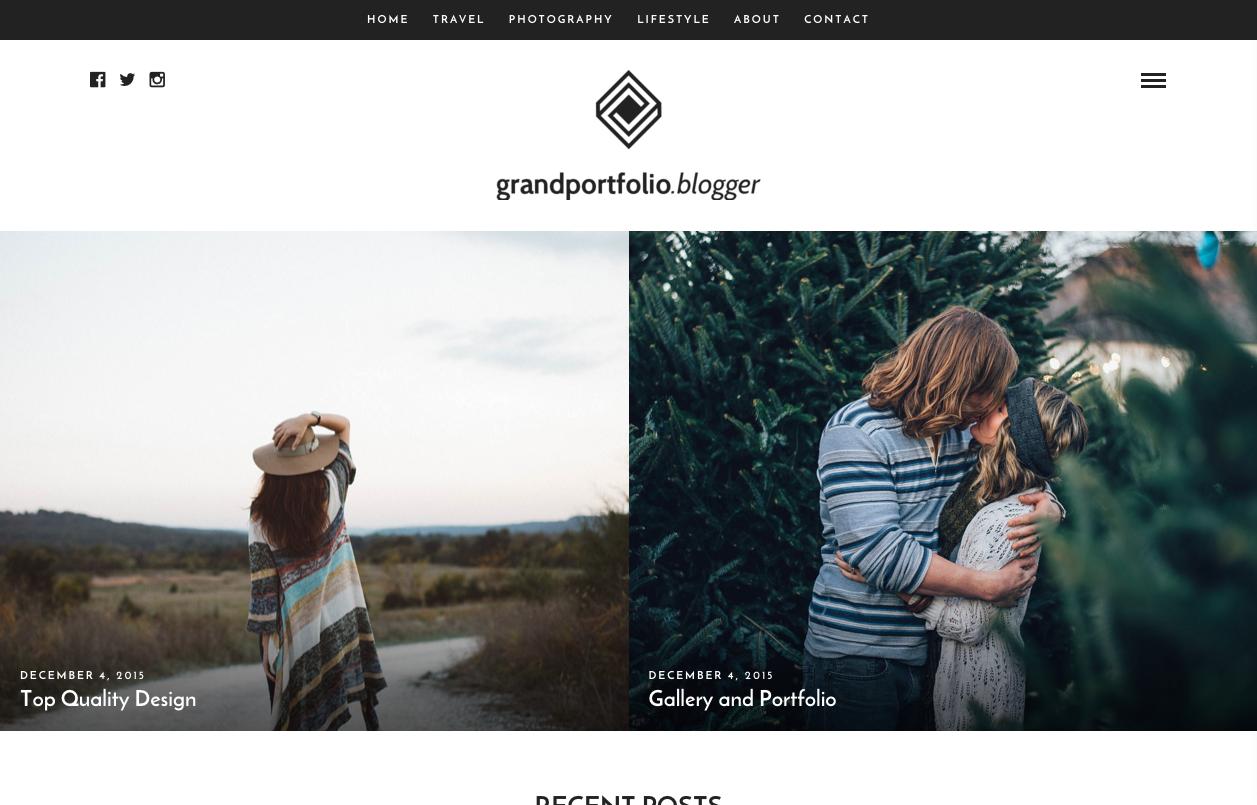 Grand Portfolio   Blogger   Just another WordPress site